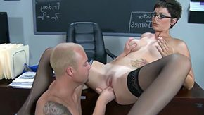 Teacher, Ball Licking, Banging, Bend Over, Big Natural Tits, Big Tits