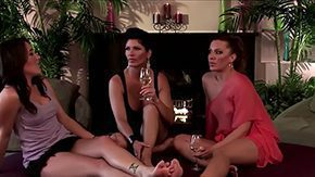 Shay Fox, Brunette, Group, High Definition, Lesbian, Lesbian Orgy