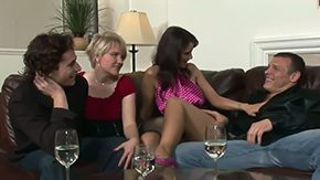 Madelin, 3some, Banging, Bed, Bimbo, Bisexual