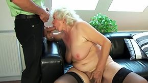 Hairy Grannie, Aged, Aunt, Banging, Beaver, Bed