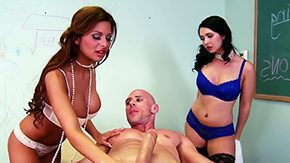 HD Allison Star tube Allison Angell prove their impart psychologist Johnny Sins that even Mr. can not control his emotions Summers Star