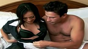 Rachel Milan HD porn tube Look at handsome Manuel Ferrara doing wild things with his snappy housekeeper Rachel Milan