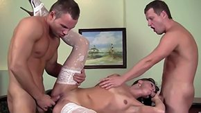 Alysa Gap, 3some, Aunt, Barely Legal, Blowjob, Brunette