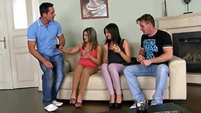 HD Spanking Teen tube They swapped dicks to make party much innumerable exciting 20yo amateur butt sweetheart blowjob brunette supply european ffmm foursome spanking group clothed lick cash