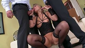 Blonde Mmf, 3some, Babe, Ball Licking, Banging, Big Cock
