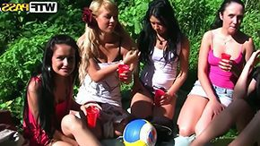 Michelle, Babe, College, Drilled, Group, High Definition
