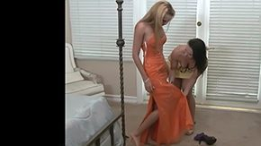 Lesbian Mature, Aunt, Babe, Bed, Best Friend, Blonde