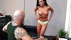 Adriana Chechik HD porn tube Adriana Chechik is bonny brunette young babe with voluptuous natural bazookas She takes off their way corset in act out of boyfriends fellow-worker Lubricious girl comes into shaved covetous