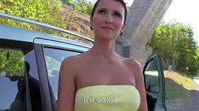 Gabrielle Gucci, Amateur, Beauty, Blowjob, Brunette, Car