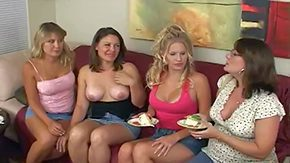 HD Girls only Masturbation Turns Into a Lesbian swingers Orgy