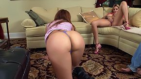 Threesome Anal, Ass, Assfucking, Aunt, Bend Over, Big Ass