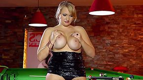 Sara Willis HD porn tube Tow-headed foetus Sara Willis fully dressed within black goes topless pool room plays with her huge simple knockers for u to ahead to That chick cant keep off wings off sport bags obese