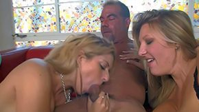 Old Woman, 3some, 4some, Aged, Amateur, Aunt