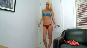 Emily Kae, Amateur, Audition, Banging, Behind The Scenes, Blonde
