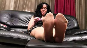 Nylon Feet, Boots, Feet, Fetish, High Definition, Heels