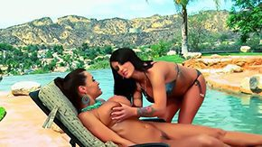 Horny Couple, High Definition, Horny, Lesbian, Naughty, Pool