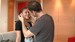 Senior HD porn tube Dark brown teen Defrancesca Gallardo with smile changeless keester gets profane with senior putrid pornstars Michael Chapman Rocco