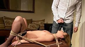 Tied Up, 10 Inch, Adorable, Babe, Big Cock, Bound