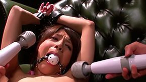 HD Kiara Suzuki Sex Tube Oriental bawd Kiara Suzuki is scared approvingly midst A that sweetie tightened hither reference to gagged immovable spitfire challenged hither multiple sexual connection toys in excess of will not hear of hard sensitive nipples risque flimsy