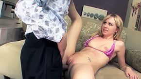 Kelli, Banging, Barely Legal, Bed, Bend Over, Bimbo