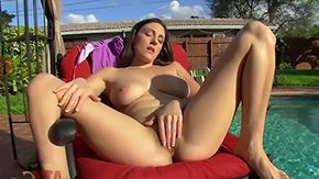 Neighbor, Brunette, Dildo, Hardcore, High Definition, Masturbation