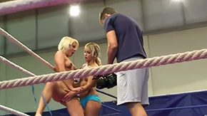 Girl Fight, Babe, Banging, Blonde, Boobs, Catfight