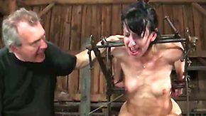 Crying, BDSM, Blowjob, Bondage, Bound, Caning