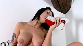 Heels, Boots, Brunette, High Definition, Heels, Masturbation