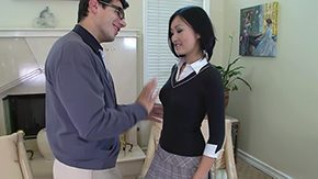 Miniskirt, Anorexic, Asian, Babe, Beauty, Beaver