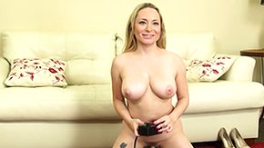 Machine, Blonde, Boobs, Fucking, Machine, Masturbation