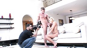 Behind The Scenes, Backstage, Behind The Scenes, Blonde, Blowjob, Cum