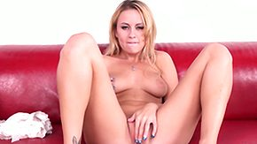Mae Meyers, Blonde, Boobs, Cumshot, Flat Chested, Hairless