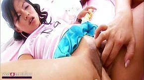 Asian Lesbian, Asian, Asian Lesbian, Asian Teen, Brunette, Dildo