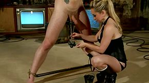 Aiden Starr, BDSM, Bitch, Blonde, Bondage, Boots