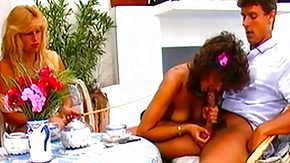 Vintage Orgy, 3some, Babe, Blonde, Blowjob, Brunette