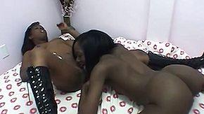 Coeds, Black, Black Lesbian, Blowjob, Coed, Ebony