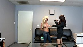 Spencer Scott, Audition, Big Tits, Blonde, Boobs, Brunette
