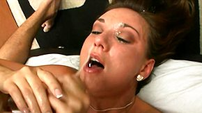 Katie Cummings, Bedroom, Big Cock, Big Tits, Blowjob, Boobs