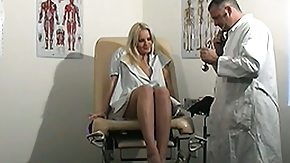 Spreading, Blonde, Gyno, Hardcore, Legs, Masturbation