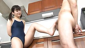 Footjob, 18 19 Teens, Asian, Asian Teen, Babe, Barely Legal