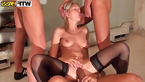 Blowbang, 4some, Anal, Ass, Assfucking, Babe
