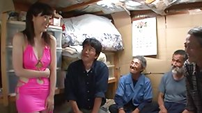 Asian Old and Young HD tube Nippon Cutie Pays a Supplicate b reprimand to Homeless Guys