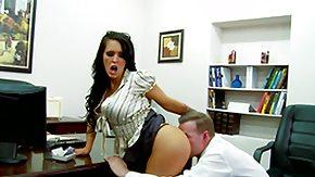 Desk, Ass, Ass Licking, Big Ass, Big Tits, Boobs