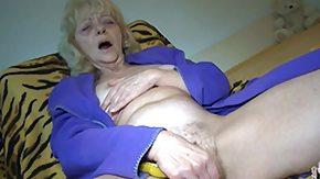 Grandma, Babysitter, Blonde, Experienced, Fingering, Grandma