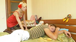 Russian Orgy, Anorexic, Beauty, Blonde, Blowbang, Blowjob