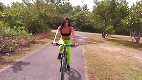 Workout HD porn tube Cycling is Unrestricted Strength for Her Ass