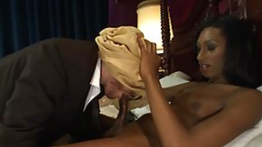 Tgirl, Blindfolded, Handjob, Interracial, Ladyboy, Shemale