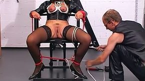 Latex, Aged, Aunt, BDSM, Bondage, Bound