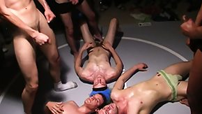 Humiliation, Bukkake, Gay, Group