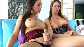 HD If a chick belongs to Tgirl group, then you can expect to get fucked by her